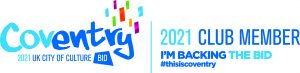 Coventry City of Culture 2021 logo - full version