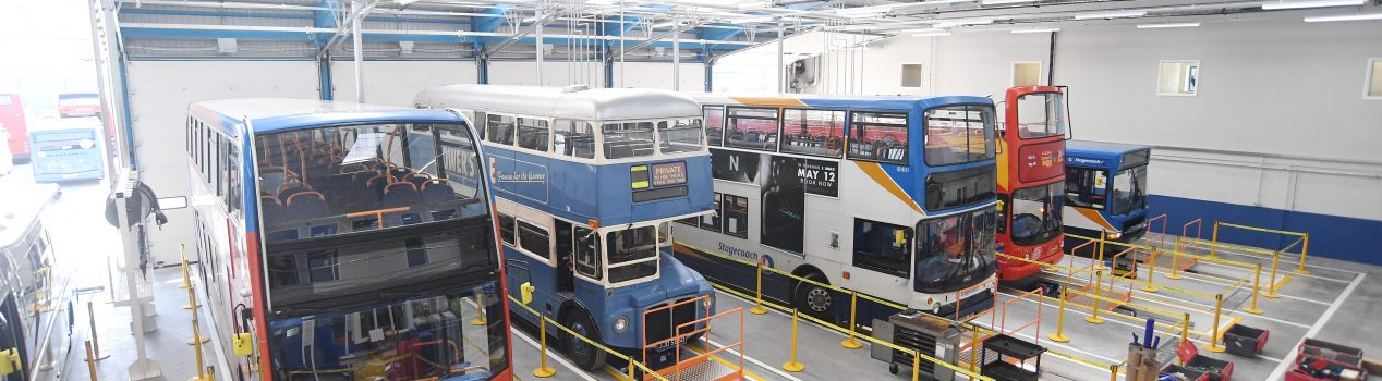Stagecoach Depot Trident Park, Cover Image