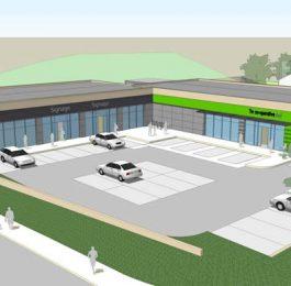Co-Operative Store & Retail Units, Oldbury