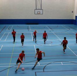 Holly Hall Academy - Sports Hall - Basketball Action