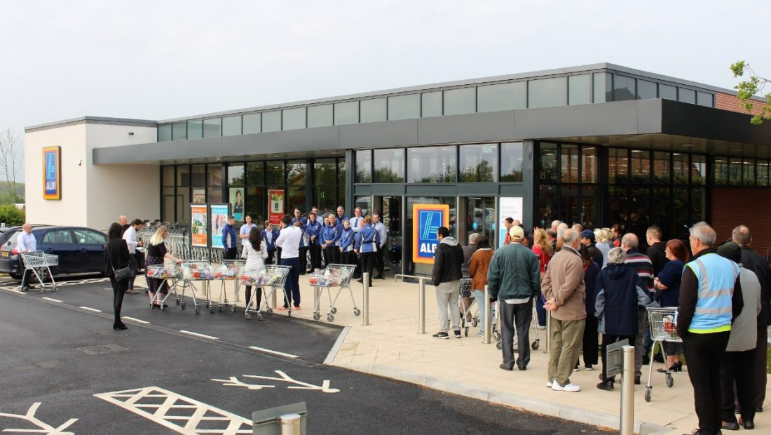 Aldi Store 2017, Airport Retail Park, Coventry 1