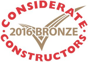 CCS Considerate Constructor Awards 2016 Bronze MIRA Technology Centre (NW5)