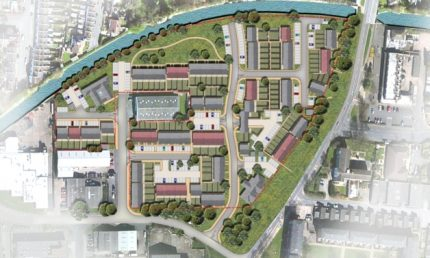 Union Park, Orbit Homes, Sydenham, Artist impression - site layout