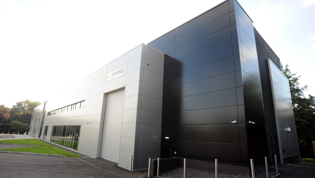 Advanced Materials Manufacturing Centre, University of Warwick