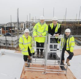 Fordham House Topping out 2