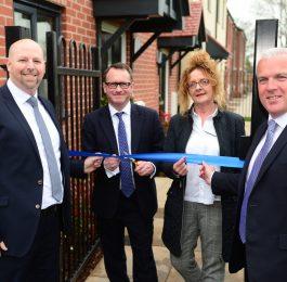 Union Park - ribbon cutting (Chris Jones, Chris White MP, Kim Craig and ...