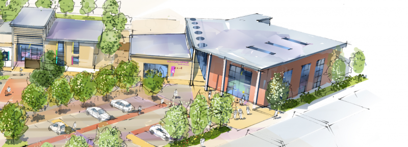 Kingsmere Community & Youth Centre, Bicester - Artist Impression 1