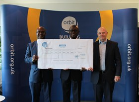 Orbit Golf Day - Cheque Handover - 2017 (1)